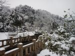 Xiaoheshan's first snow 1 by Kampy
