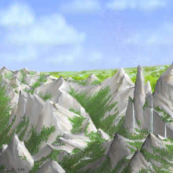 White Quartz Mtns - Spherus by DreamingFoxfire