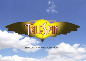 BALOO TEST ANIMATION by PUFFINSTUDIOS
