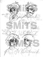 Stu and Muds Doodles by Smitkins