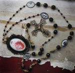 Sacred Heart Rosary Necklace - Photo 2 by asunder