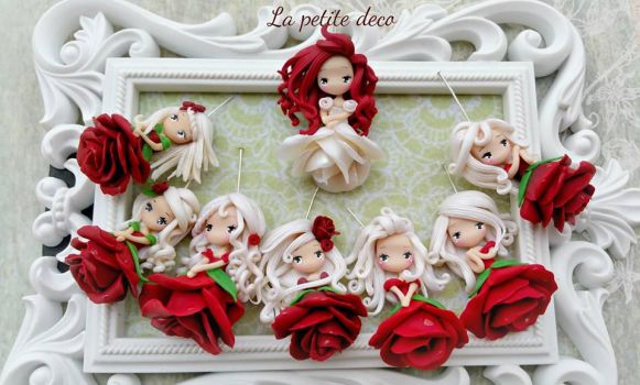 red rose by lapetitedeco