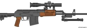 Type 47 Sniper Rifle by tylero79