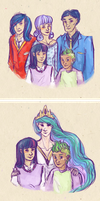 Twilight's Families by astrophrenia
