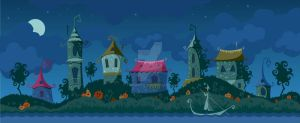 Halloween-background by trofimich