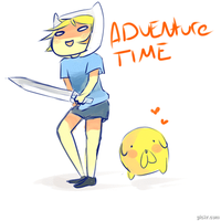 Adventure Time by Glarthious