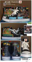 Arcade Classic High Top Shoes by Paradox-Artistry