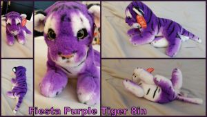 Fiesta Lying purple Tiger by Vesperwolfy87