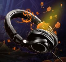 Haunted Headphones by raize