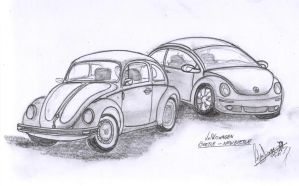 Escarabajo, beetle and new by WaChuLeRuXx