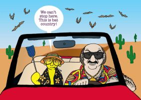 Fear and Loathing In Las Vegas (Digital) by Fisherella