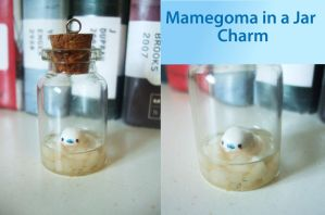 Mamegoma in a Jar Charm by Number1FMAfangirl