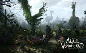 Alice in Wonderland Wallpaper5 by tomjg