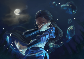 Katara by goodluckzero