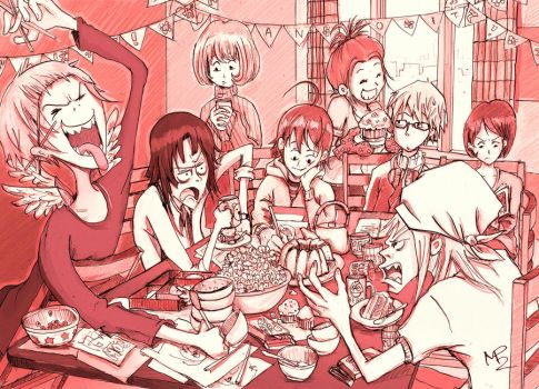 Bakuman - Manga and Meal by Veleven