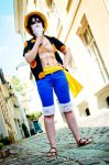 Up to no good | Monkey D. Luffy | Dressrosa | I by Wings-chan