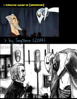 Count Dooku n' General Grievous by seg0lene