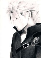 cloud strife: by jap09