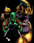DRAX et THANOS by Mich974