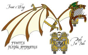 C.O.G. - Pyott's Flying Apparatus by MaraAum