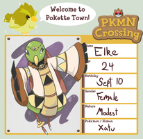 PKMN-Crossing: Elke by ElfSama
