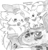 Digimon tamers by sakura11