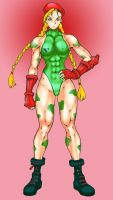 Cammy white in uniform by chase-malone