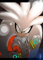 ::Uncovered- Silver the Hedgehog:: by maex-m