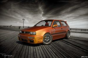 VW Golf 3 GTI by cipriany