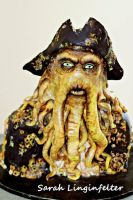 Davy Jones Cake by ohnoono