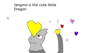 Jangmo-o the Alola Dragon