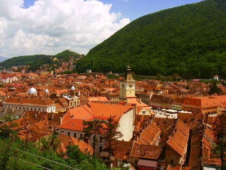 Brasov up view by rockmylife