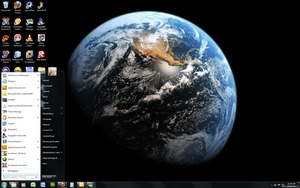 Windows 7 Theme - Earth HD by Windowsthememanager