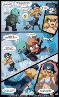 Pokey and Hokey vs The Pirate Madeline by Randommode