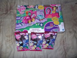 My little Pony Blind Bags 9 and 16 and The Train by Galvan19