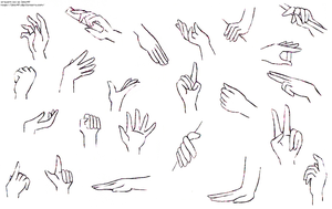 Hands- practice II by izka197