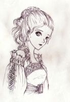 Sketch: Random Bishojo by ereya
