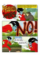 Freakazoid and Jeepers, page 1 by SammyTorres