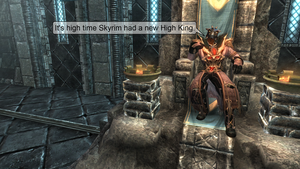 Its High Time Skyrim Had A New High King by NeonBlacklightTH