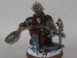 Iron Hands Chapter Master MK2 by fallingstar1756