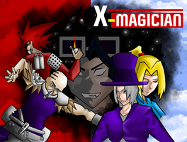 X magician cover 2 by ShadowBT