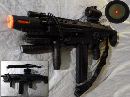 NERF Stampede SOPMOD Assault Rifle by MarcWF