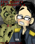 Five Night's At Freddy's 3 and Markiplier Poster by Monodes