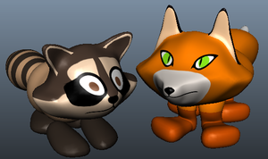 Fox and Racoon Rigs by Neighthirst