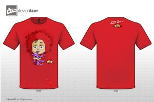 WHo's the monster now?!..  red edition by ToonCharactres