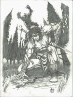 Sasquatch Hunter by Ace-Continuado