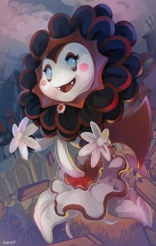 Vampire Sunflower by Cenit-v
