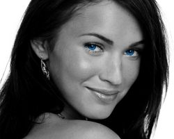 Megan Fox Blue Eyes 2 by DonMeato