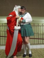 Inuyasha and Kagome by Karie-Pyre