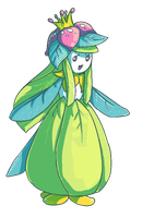 : Shiny Lilligant : by dar-a
